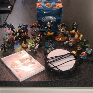 Wii Skylanders swap force game